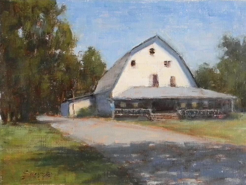 """""""Jubilee Farm"""" original fine art by Barbie Smith"""