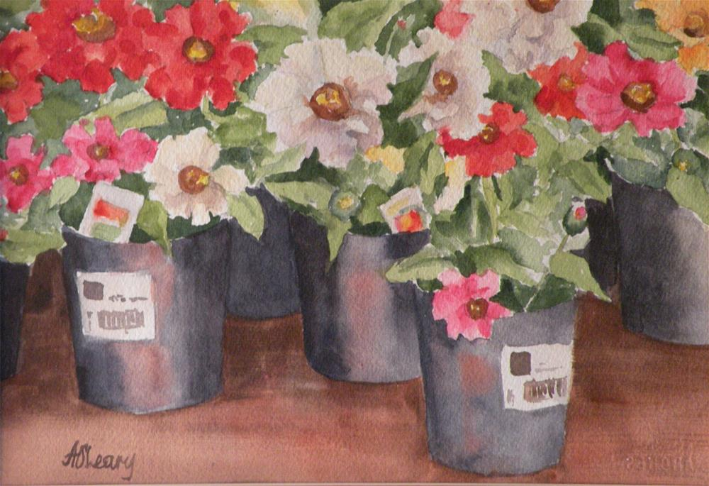 """""""Spring Planting"""" original fine art by Alice O'Leary"""