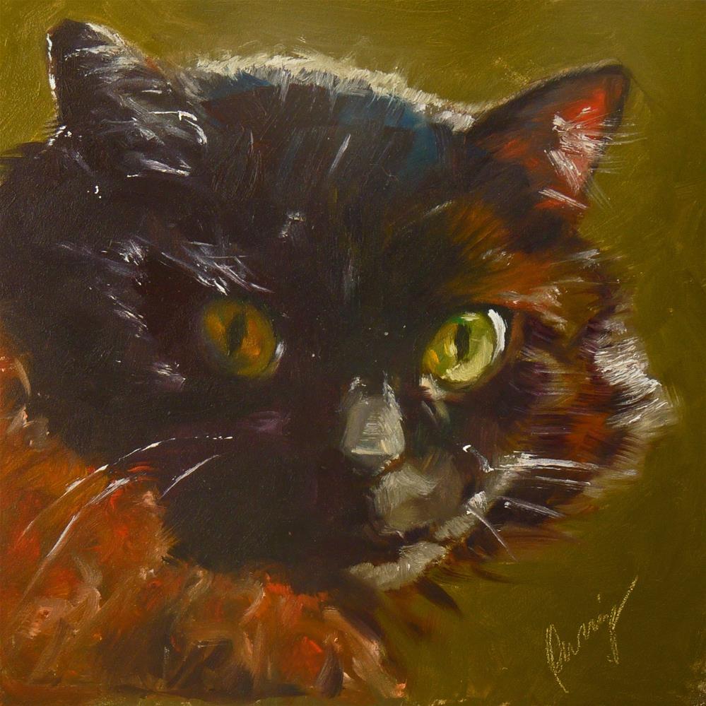 """Muff"" original fine art by Sharman Owings"
