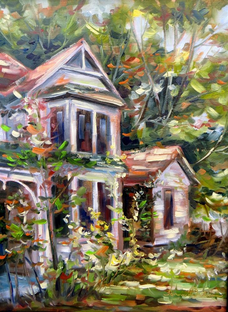 """Long Forgotten"" original fine art by Tammie Dickerson"