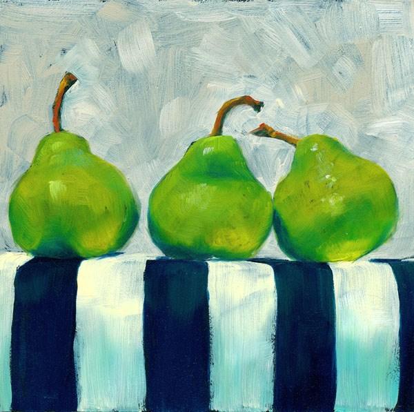 """In Cahoots"" original fine art by Brenda Ferguson"