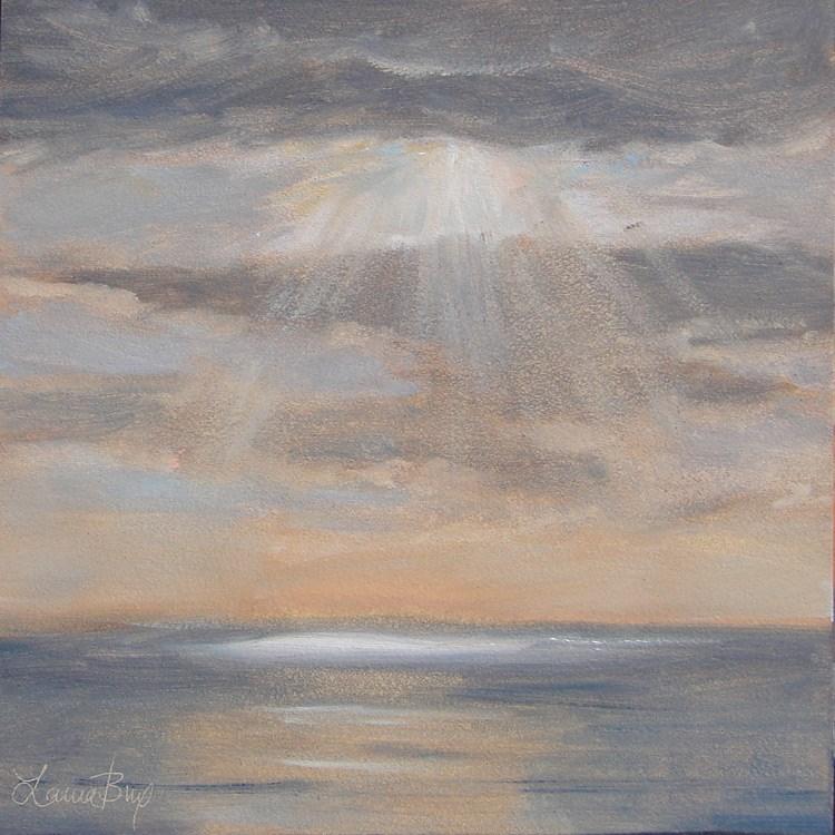 """Before Sunset 471"" original fine art by Laura  Buxo"
