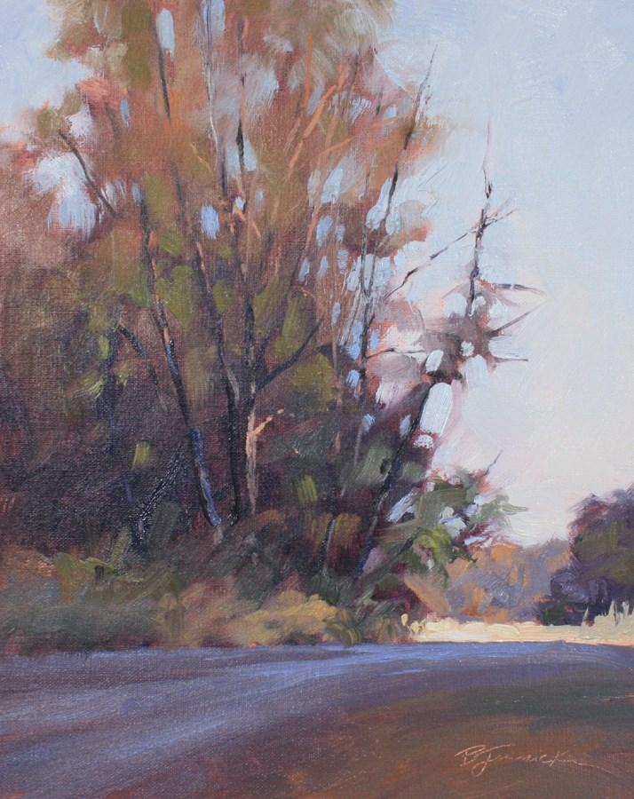 """Springtime Memory"" original fine art by Barbara Jaenicke"