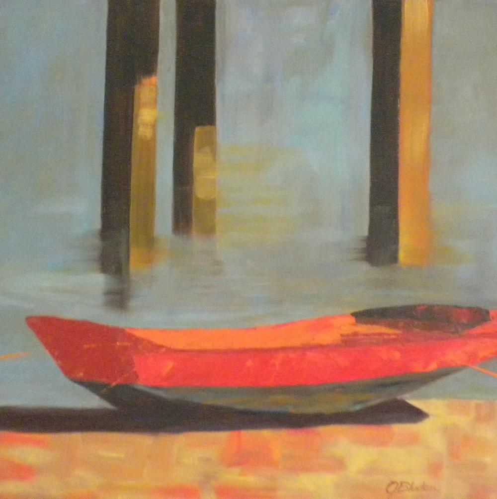 """At Ease"" original fine art by Janet Bludau"