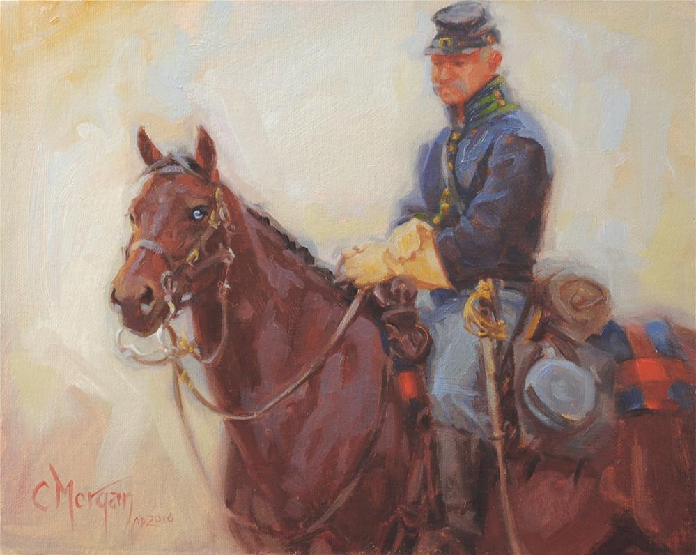 """Deja Vu All Over Again"" original fine art by Cecile W. Morgan"