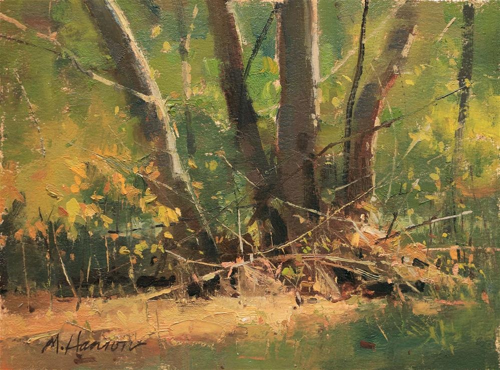 """Streamside"" original fine art by Marc Hanson"