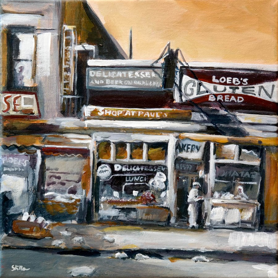 """1323 Bronx II"" original fine art by Dietmar Stiller"