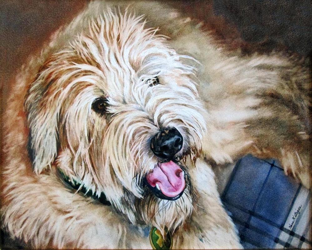"""""""Murphy"""" original fine art by Kara K. Bigda"""