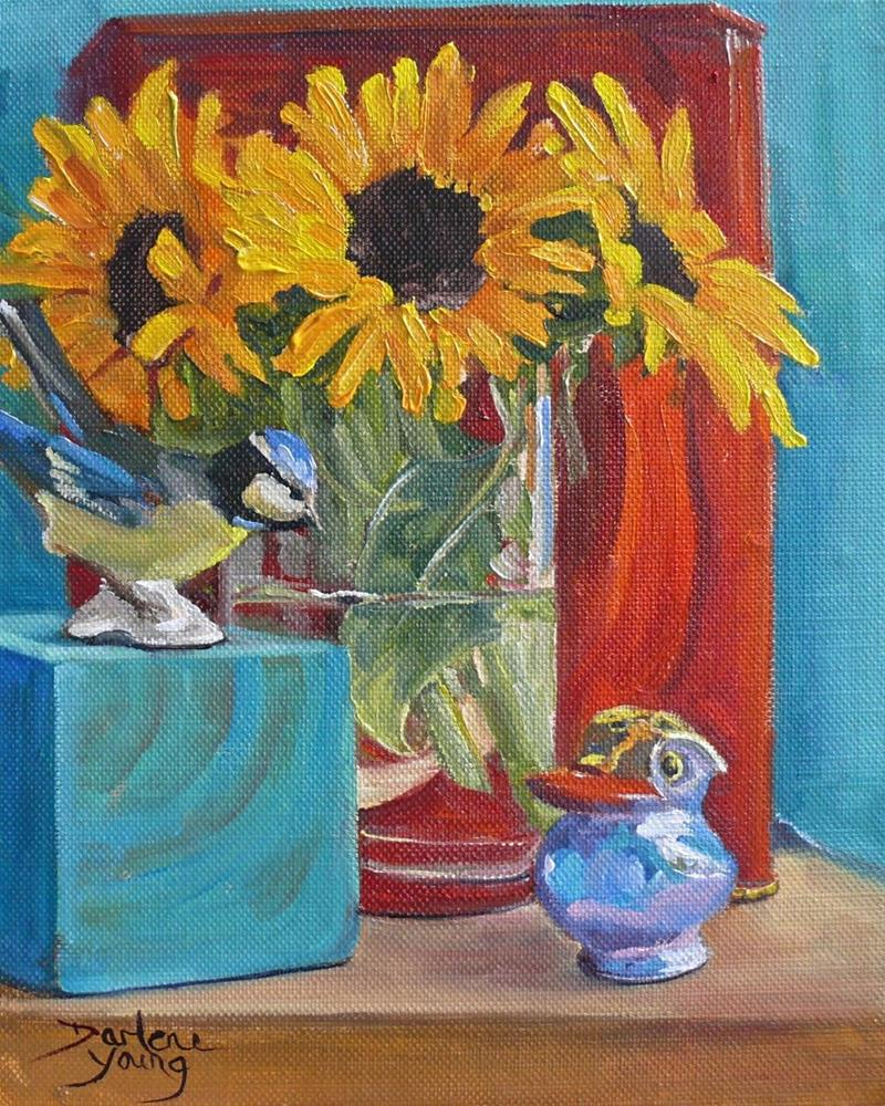"""""""885 Good Counsel, oil on board, 8x10"""" original fine art by Darlene Young"""