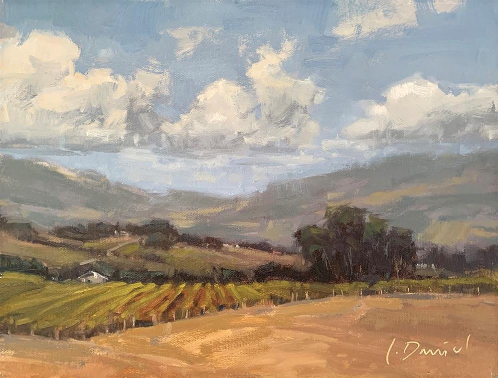 """Vineyard View - Fix It Friday #23"" original fine art by Laurel Daniel"