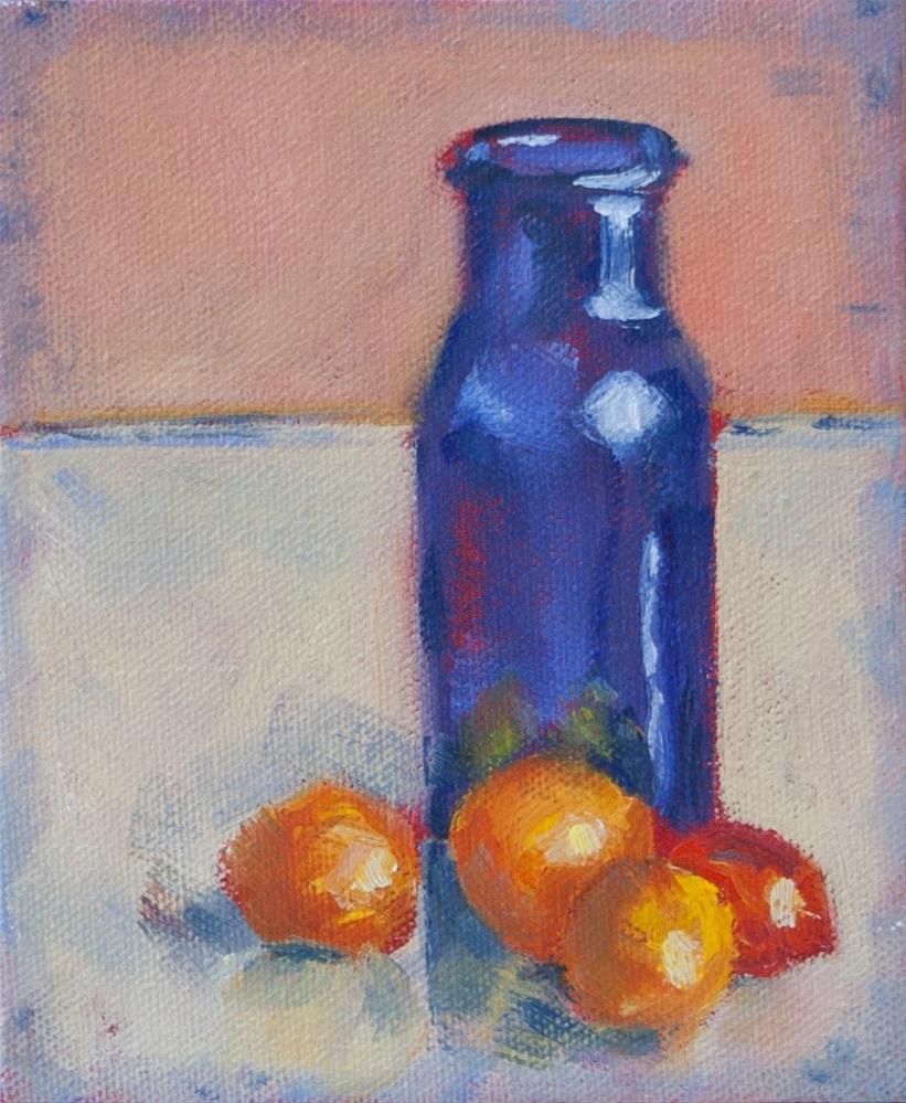 """""""Bottle Gang"""" original fine art by Maria McNitt"""