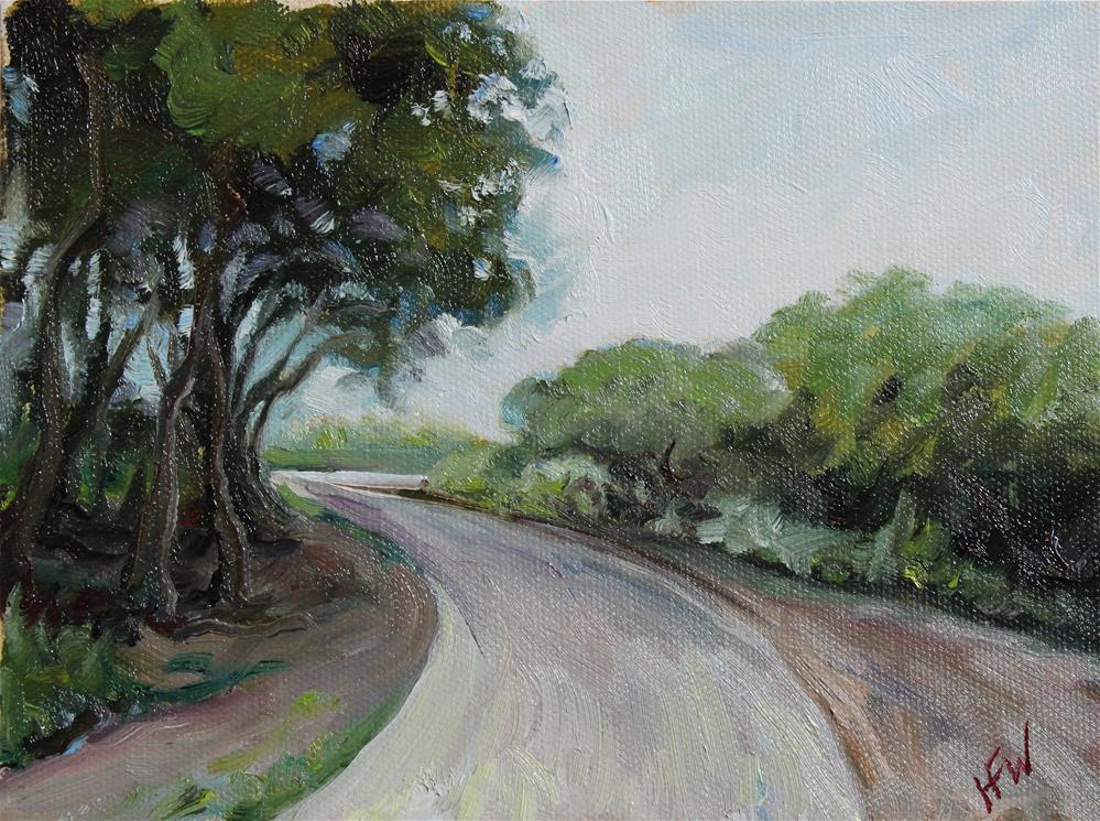 """The Nature Trail"" original fine art by H.F. Wallen"