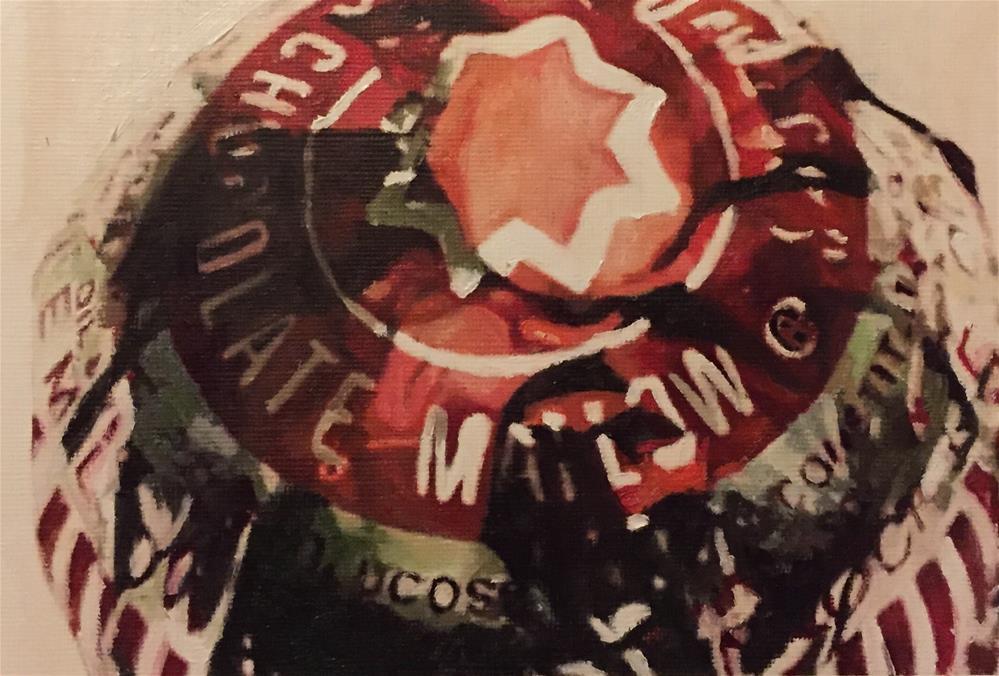 """Tunnock's Teacake"" original fine art by John Cameron"