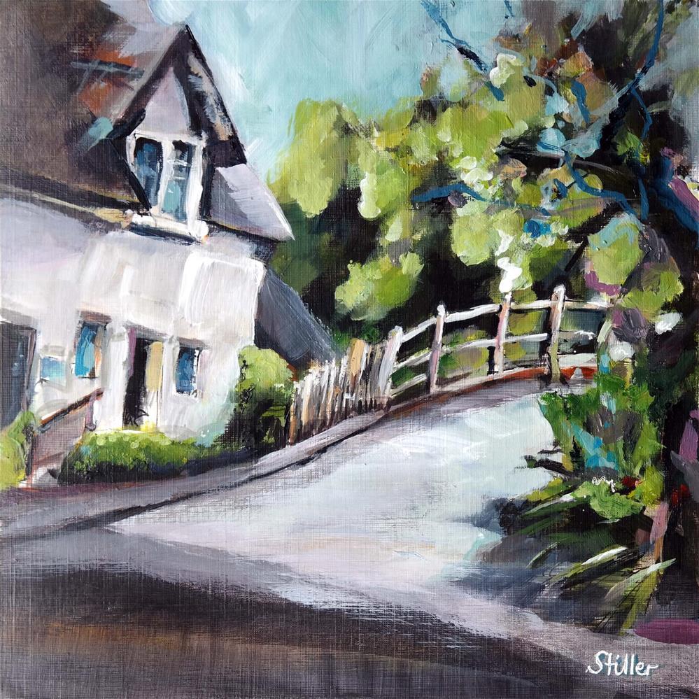 """""""3636 Countryside View"""" original fine art by Dietmar Stiller"""