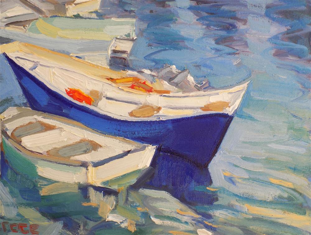 """""""Ultramarine Blue"""" original fine art by Rita Brace"""
