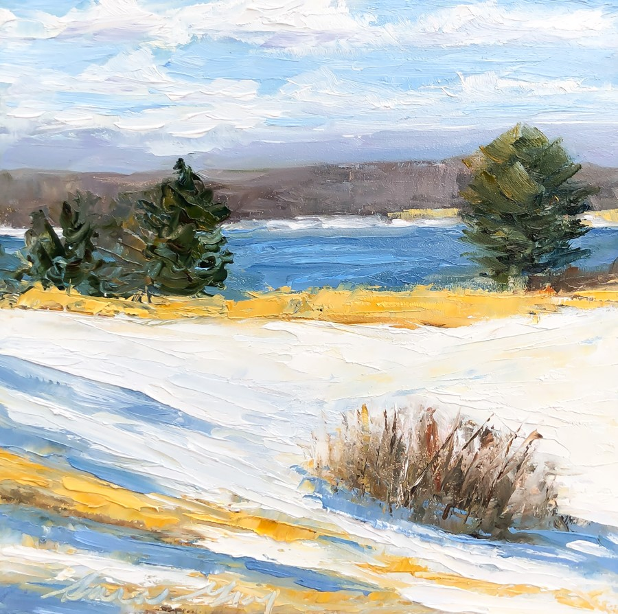 """#206 - Gilsland Farm- Maine Audubon-Falmouth, ME"" original fine art by Sara Gray"