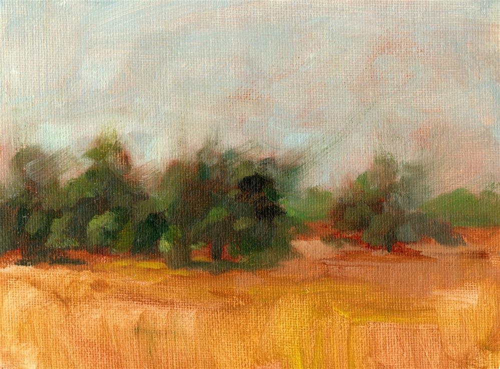 """Cache Acres Dairy Yolo"" original fine art by Marlene Lee"