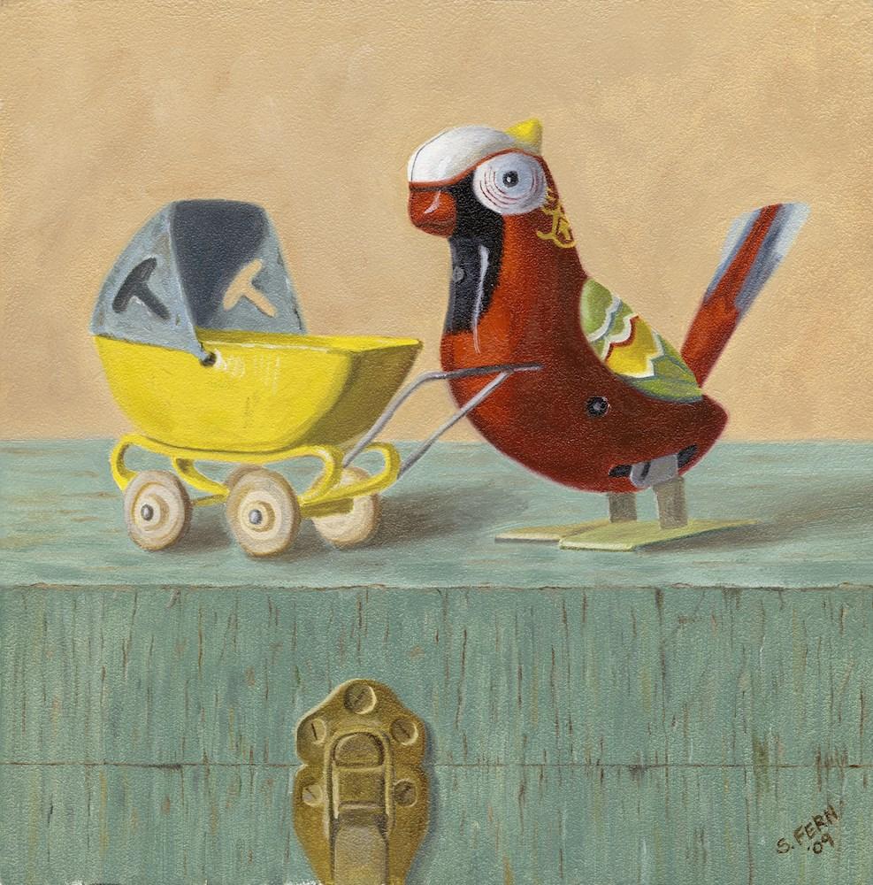 """Proud Mother"" original fine art by Susan Fern"