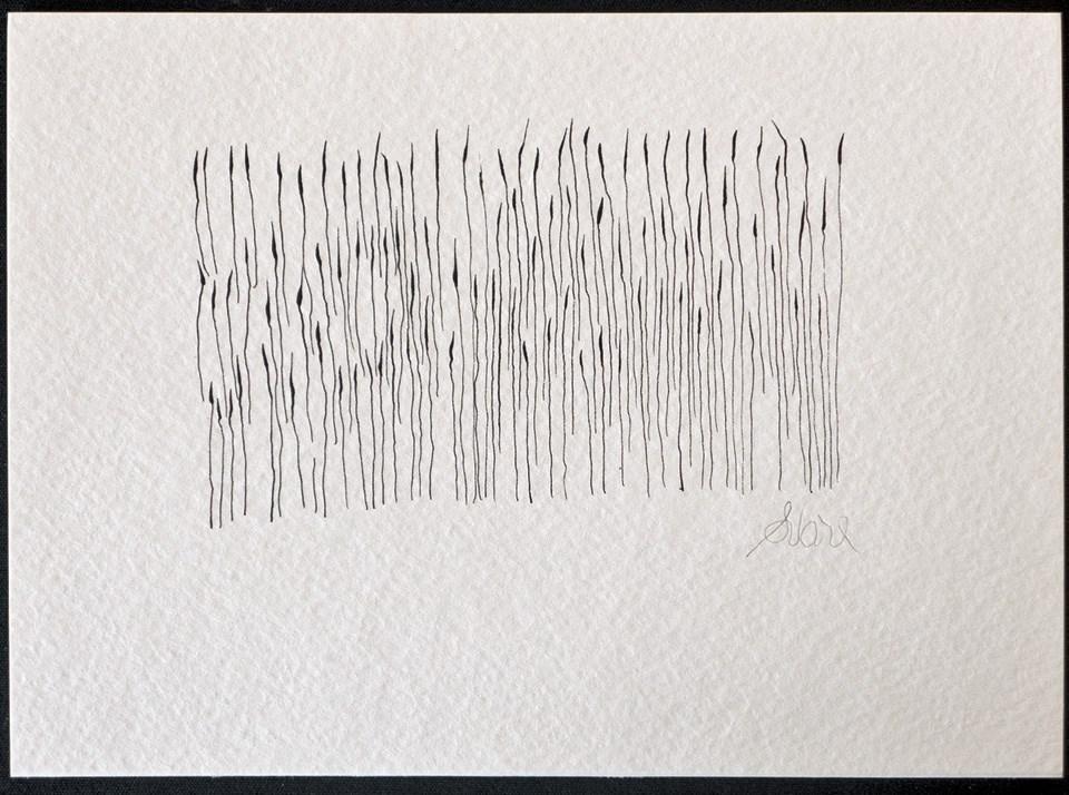 """INN 5 RUSHES"" original fine art by Craig Svare"