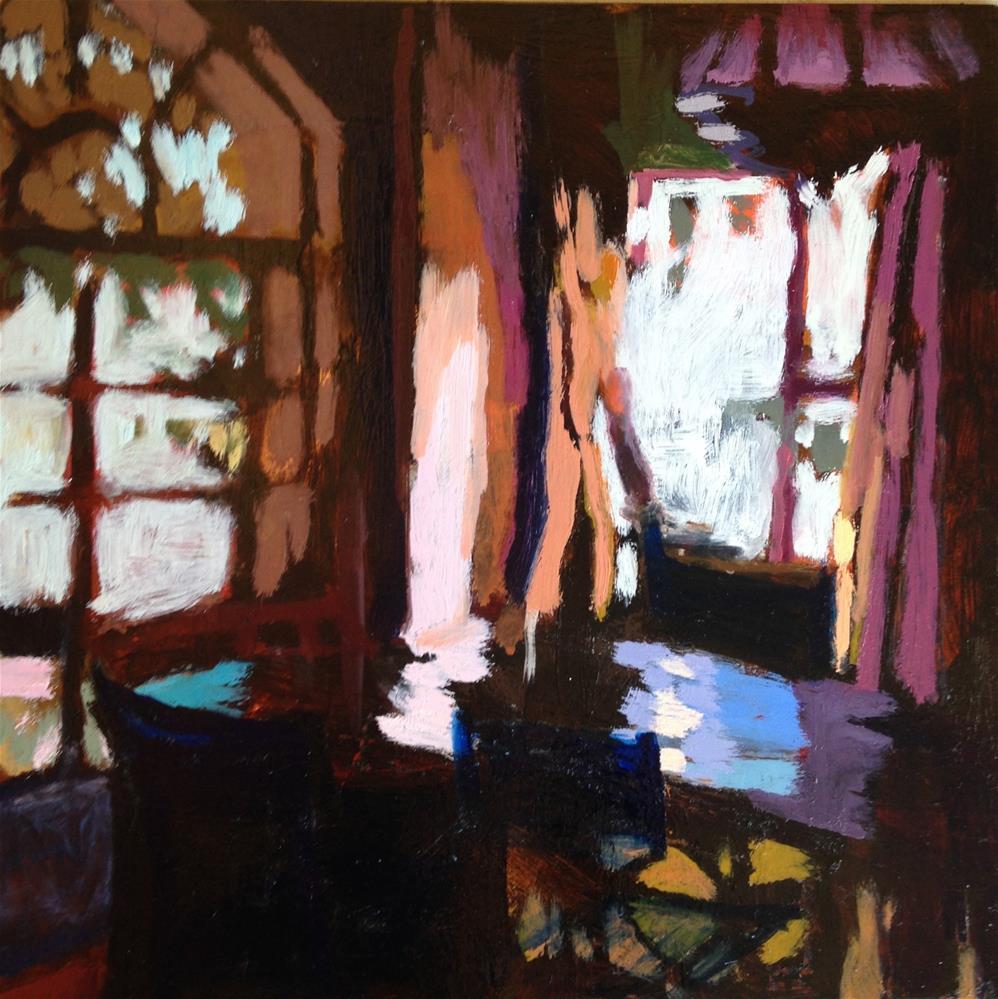 """Morning Reflection"" original fine art by Pamela Hoffmeister"