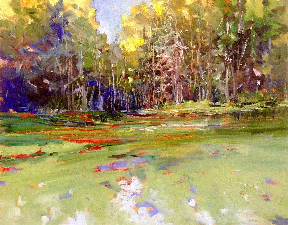 """""""Marsh Magic"""" original fine art by Cathy Boyd"""