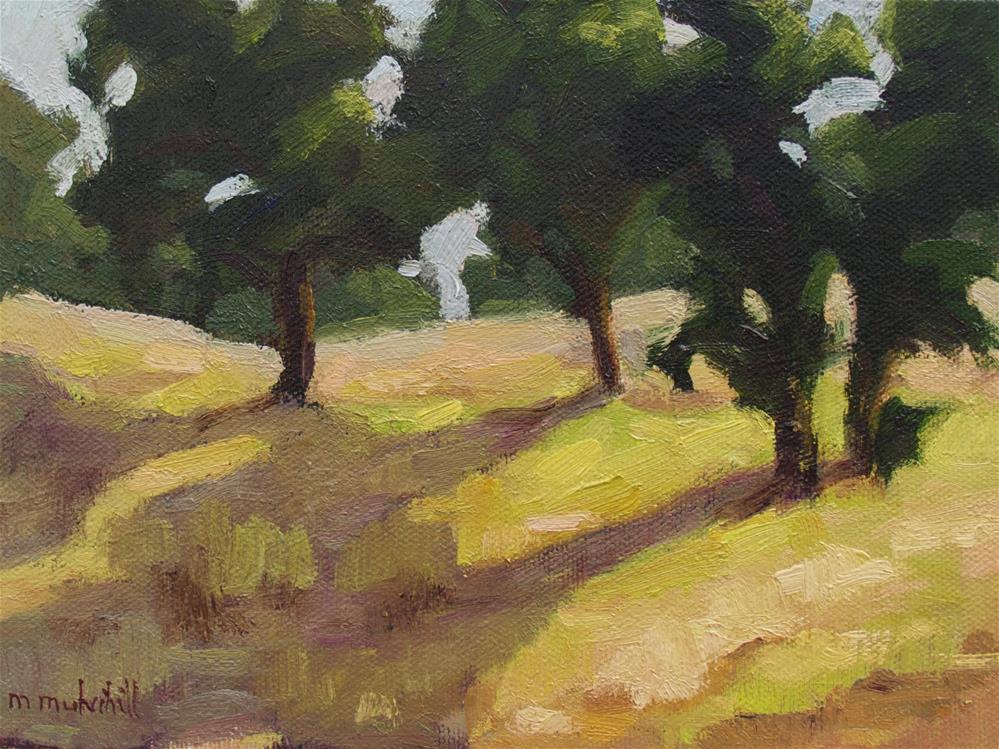 """First Green"" original fine art by Mary Mulvihill"