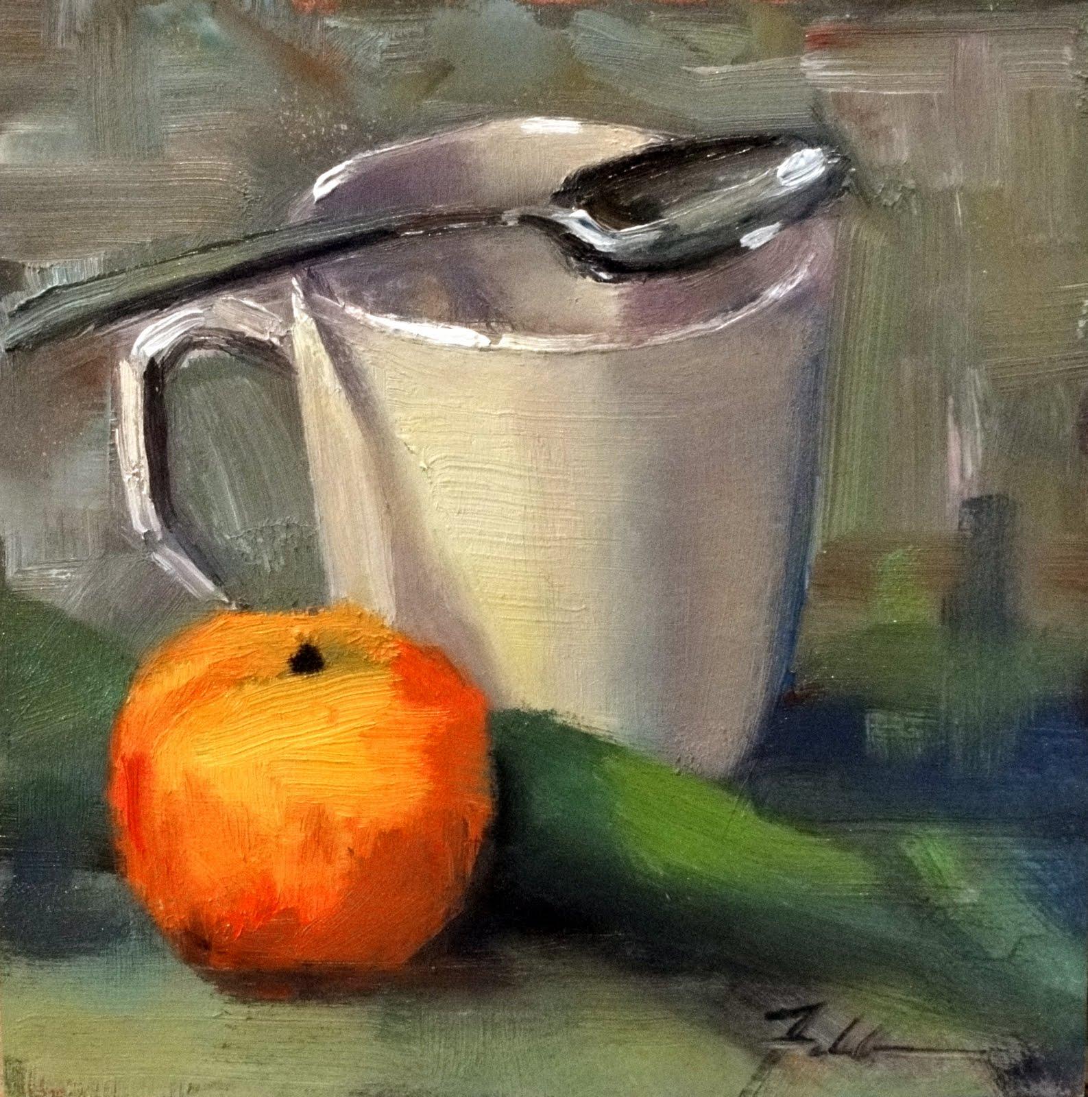"""Cape Cod Morning, 6x6"" original fine art by Ann Feldman"