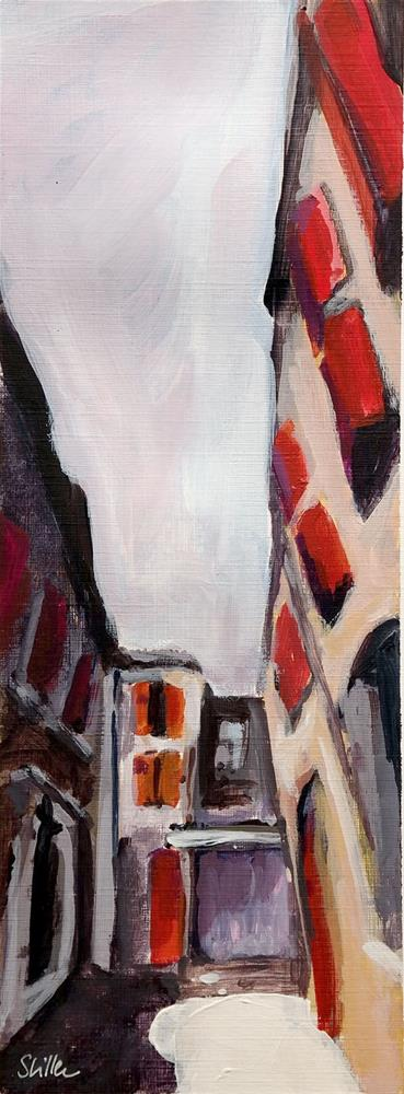 """1921 Rougettes"" original fine art by Dietmar Stiller"