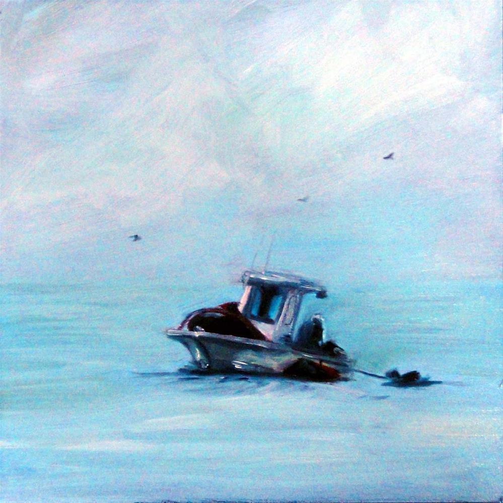 """Fixin To Fish"" original fine art by Cietha Wilson"