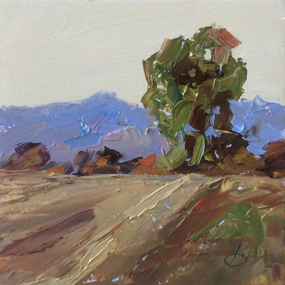 """PLEIN AIR LANDSCAPE"" original fine art by Tom Brown"