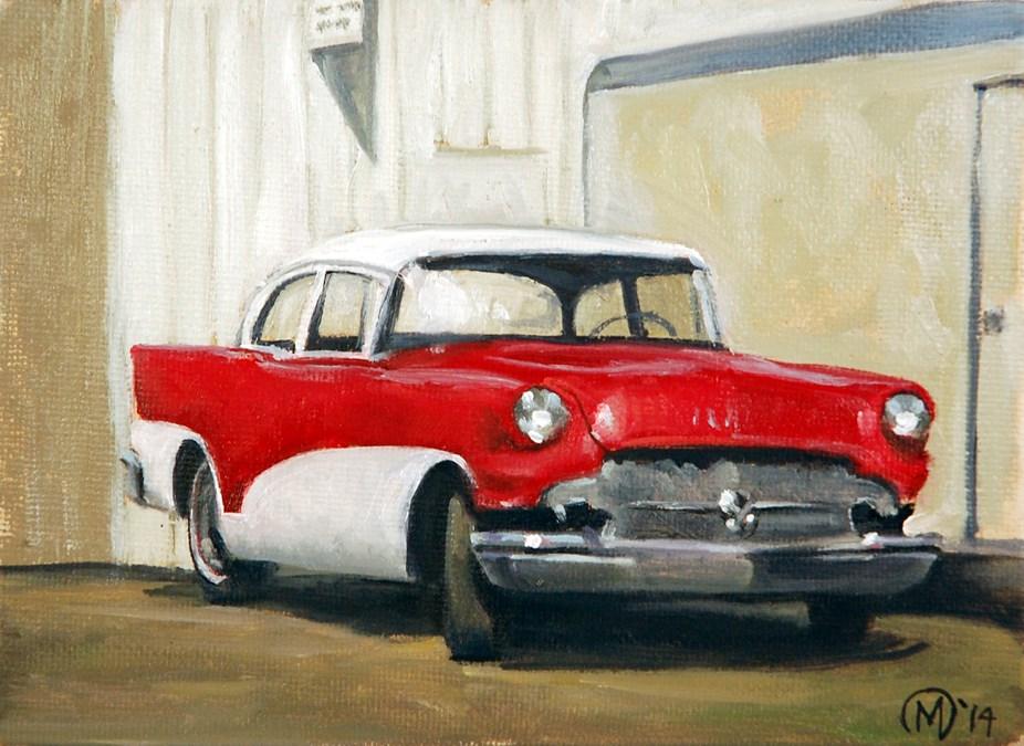 """Retired Fifty- seven"" original fine art by Maurice Morgan II"