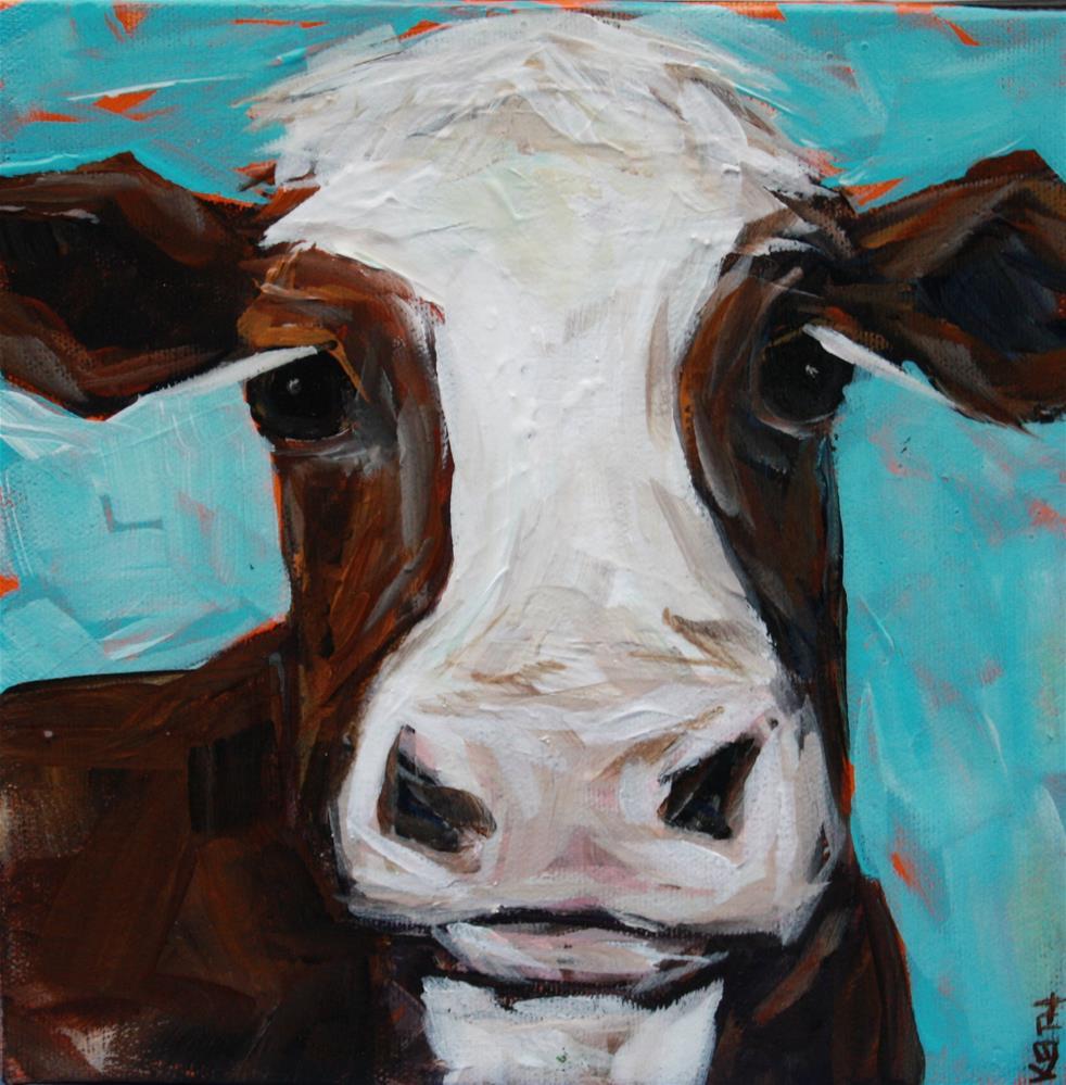 """Chuck"" original fine art by Kandice Keith"