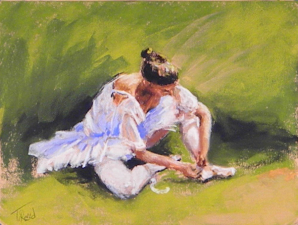 """""""In rest"""" original fine art by Toby Reid"""