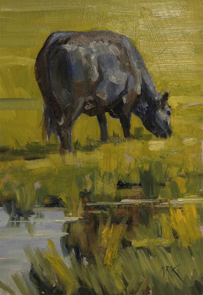 """Big Blue"" original fine art by Rick Kennington"