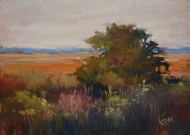 """A Quick and Easy Start: Pastel Painting Demo"" original fine art by Karen Margulis"