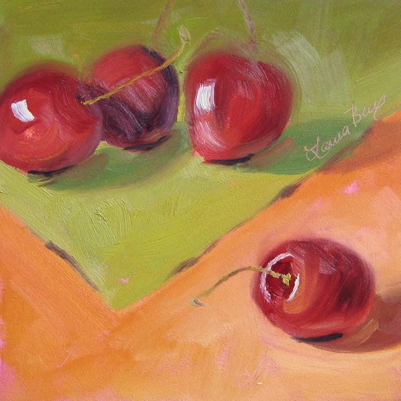 """Gossip 262"" original fine art by Laura  Buxo"