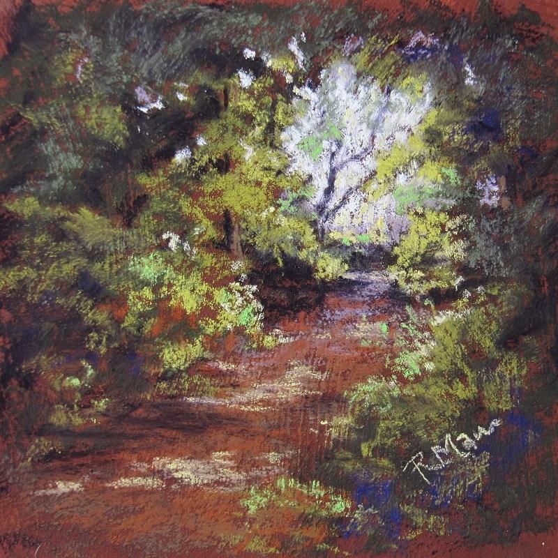 """""""Light Study 1"""" original fine art by Ruth Mann"""