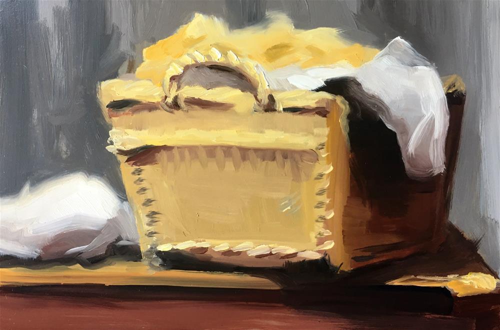 """""""Challenge - Laundry"""" original fine art by Van DeGoede"""