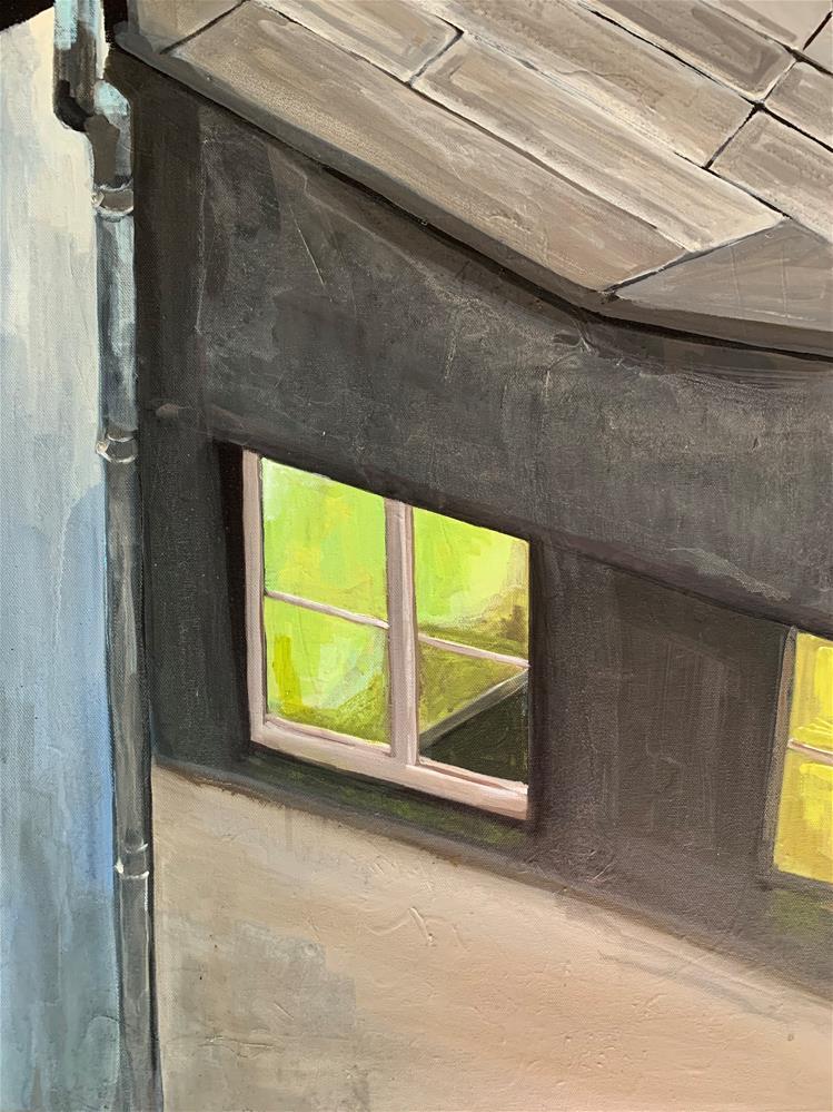 """754 Je Suis"" original fine art by Jenny Doh"