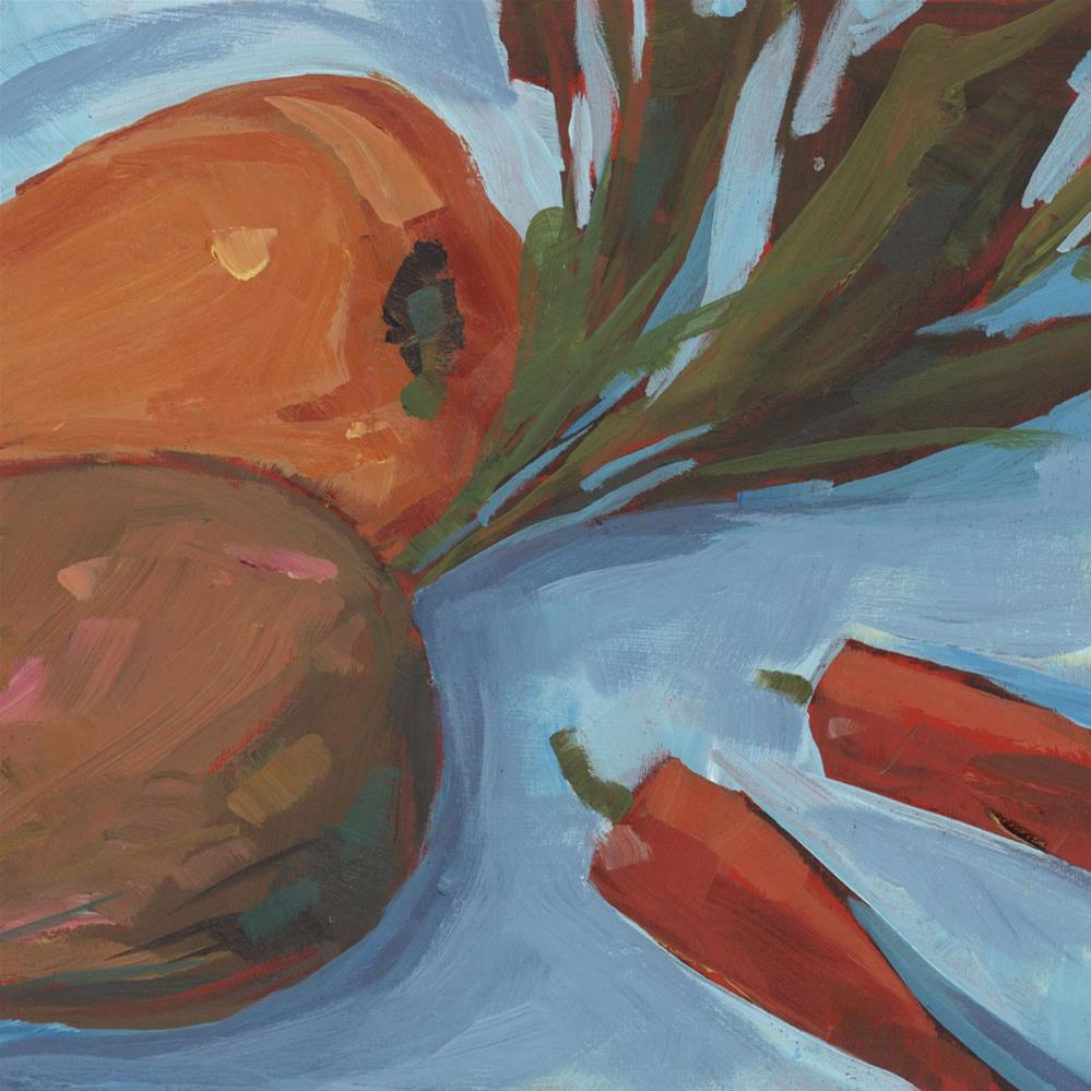 """0962: Beets and Peppers"" original fine art by Brian Miller"