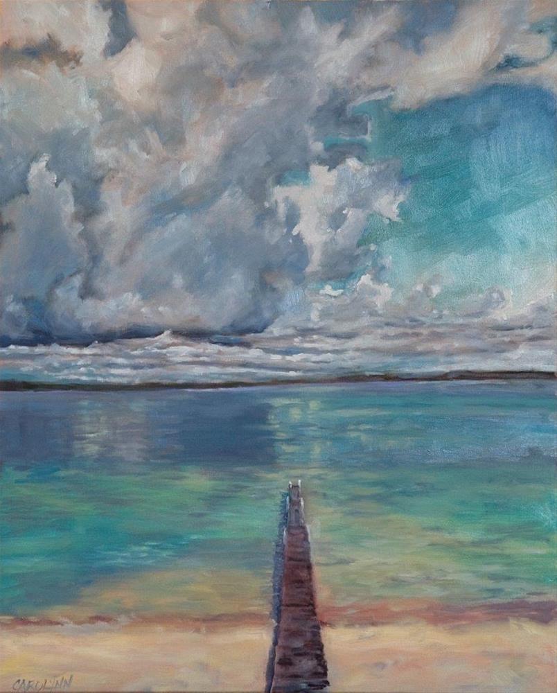 """""""Surrender"""" original fine art by Carolynn Doan"""