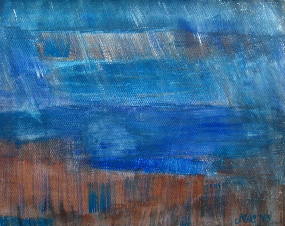 """Bad Weather"" original fine art by Alina Frent"
