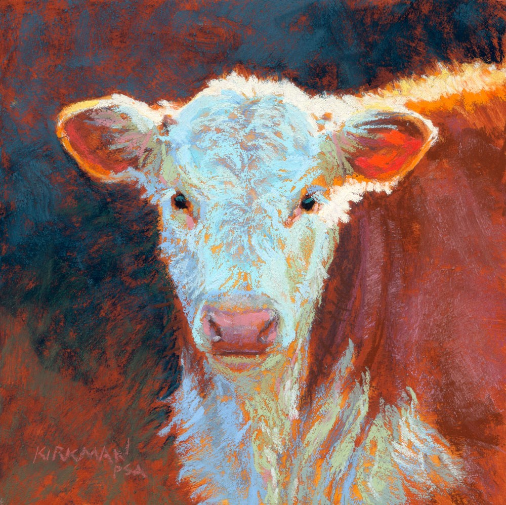 """Gorgonzola"" original fine art by Rita Kirkman"