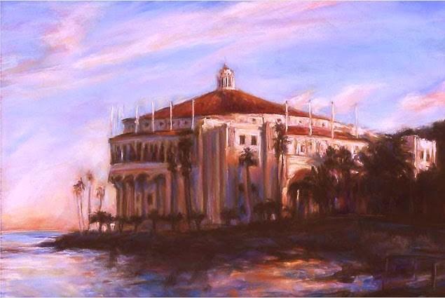 """CATALINA - 10 x 14 seascape pastel by Susan Roden"" original fine art by Susan Roden"