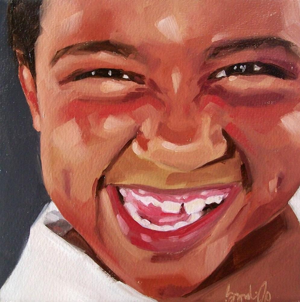 """Girl 9"" original fine art by Brandi Bowman"