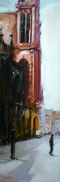 """Am Dom"" original fine art by Jurij Frey"
