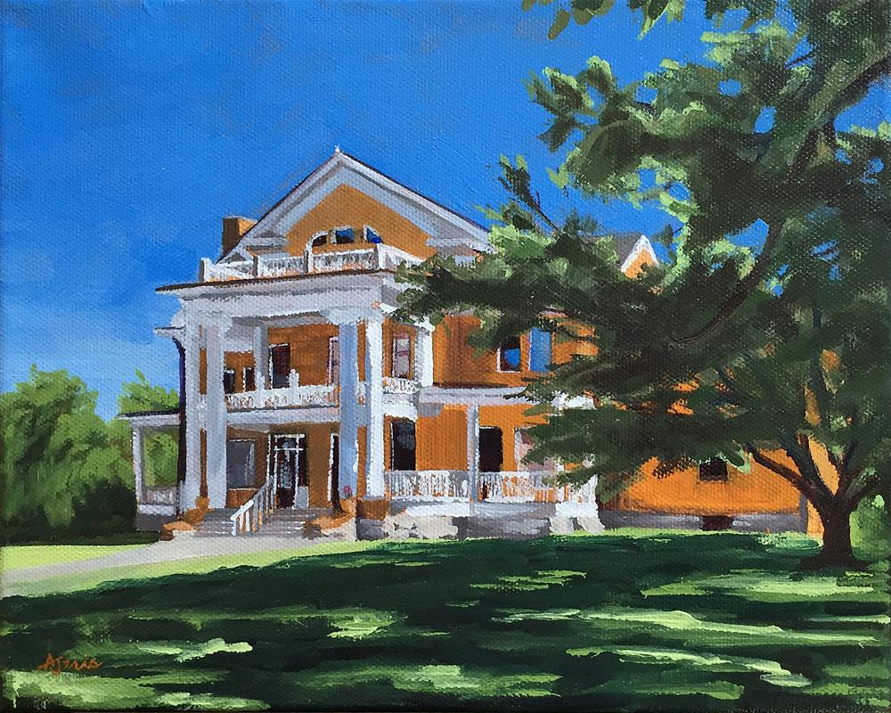 """Turner-Dodge House"" original fine art by Andrea Jeris"