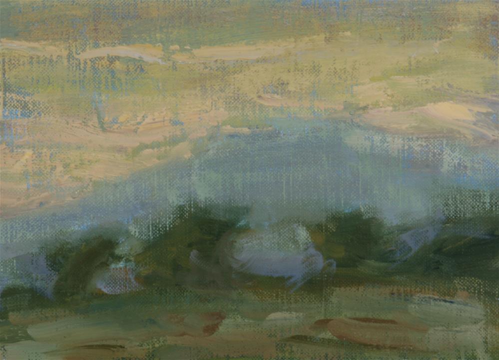 """Summer Sunrise 08"" original fine art by Scott Serafica"