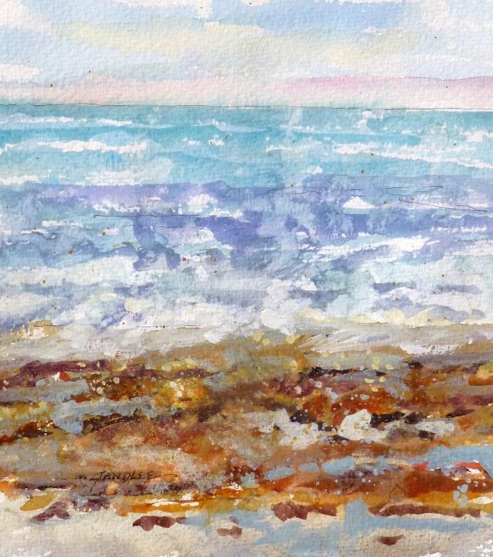 """""""Seaweed 13108"""" original fine art by Nancy Standlee"""