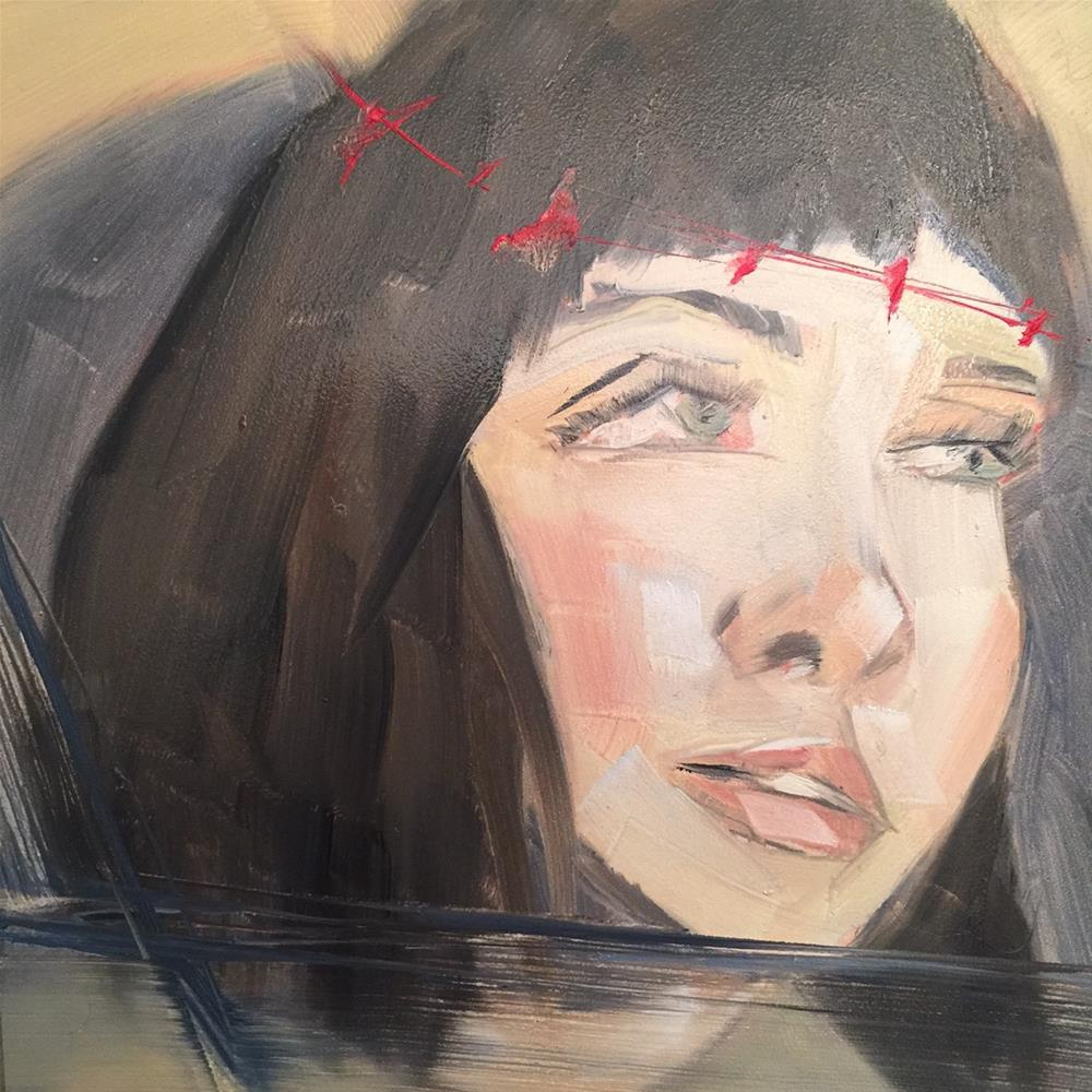 """452 Como Siempre"" original fine art by Jenny Doh"